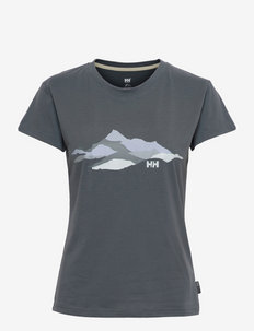 W SKOG RECYCLED GRAPHIC T-SHIR - t-paidat - 609 storm