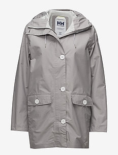 W ELEMENTS RAINCOAT - outdoor & rain jackets - 820 silver grey