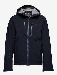 ALPHA SHELL JACKET - NAVY