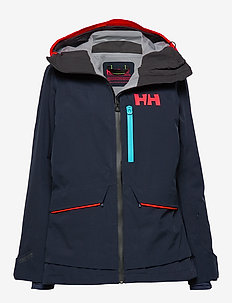 W AURORA SHELL 2.0 JACKET - NAVY