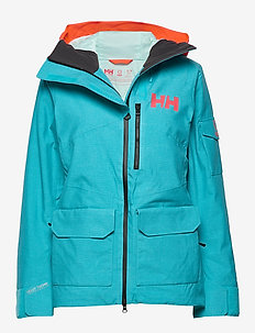 W POWDERQUEEN 2.0 JACKET - isolerende jakker - scuba blue