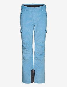 W SWITCH CARGO 2.0 PANT - spodnie narciarskie - bluebell