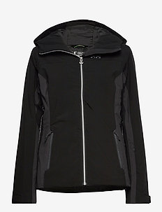 W MAJESTIC WARM JACKET - laskettelutakki - black