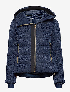 W VALDISERE PUFFY JACKET - skijakker - 597 navy