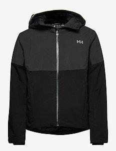 RIVA LIFALOFT JACKET - kurtki narciarskie - black