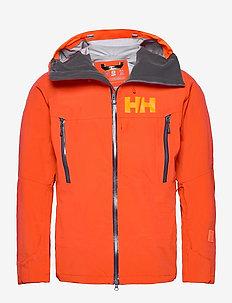 SOGN SHELL 2.0 JACKET - kurtki narciarskie - 300 patrol orange
