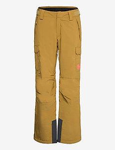 W SWITCH CARGO INSULATED PANT - spodnie narciarskie - uniform green