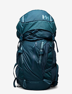 RESISTOR BACKPACK - training bags - 436 midnight green