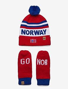 GOING FOR GOLD SET - mutsen - norwegian flag red