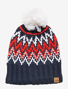 W POWDER BEANIE - NAVY