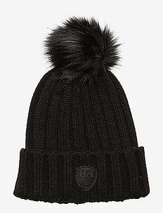 W LIMELIGHT BEANIE - bonnets - black