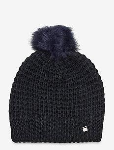 W SNOWFALL BEANIE - kapelusze - navy