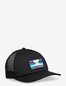 HH TRUCKER CAP - petten - black