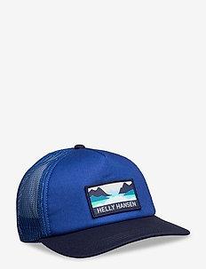 HH TRUCKER CAP - kepsar - royal blue
