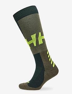 ALPINE SOCK MEDIUM - sockor - scarab green