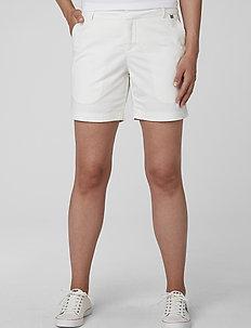 W CREW SHORTS - training shorts - white