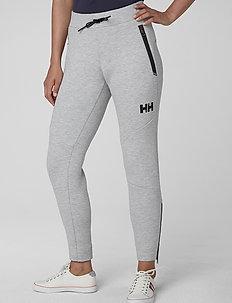 W HP OCEAN SWT PANT - pants - grey melange