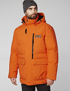 TROMSOE JACKET - parka coats - bright orange