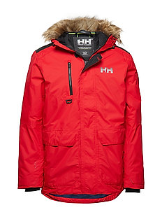 SVALBARD PARKA - FLAG RED