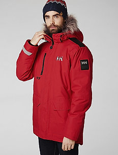 SVALBARD PARKA - parka coats - flag red