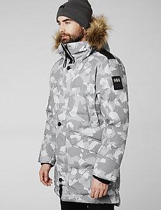 BARENTS PARKA - insulated jackets - quiet shade camo