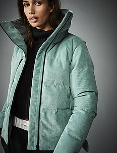 W BELOVED DOWN JACKET - down jackets - jade