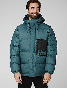 P&C PUFFER JACKET - insulated jackets - washed teal