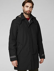 OSLO PADDED COAT - insulated jackets - black