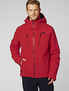 ALPHA 3.0 JACKET - insulated jackets - alert red