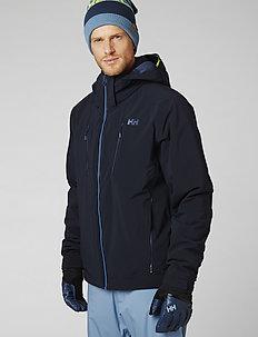 ALPHA 3.0 JACKET - insulated jackets - navy