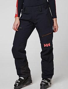 W AURORA SHELL 2.0 PANT - shell pants - navy