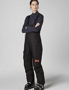 W POWDERQUEEN BIB PANT - shell pants - black