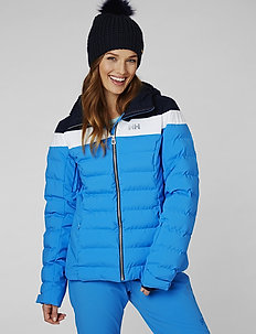 W IMPERIAL PUFFY JACKET - insulated jackets - bluebell