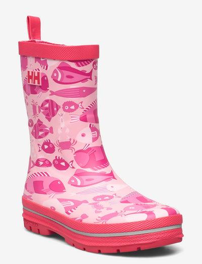 JK SPLASH PRINT - les bottes non doublées en caoutchouc - 088 fairytale