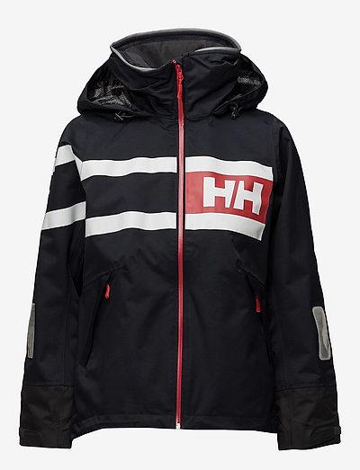 Helly Hansen W Salt Power Jacket- Jacken & Mäntel Navy