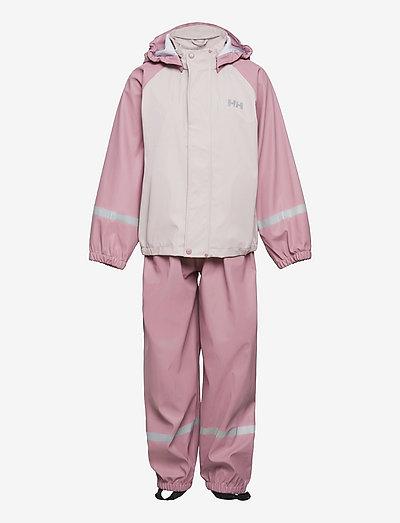 K BERGEN PU RAINSET - combinaisons - 067 pink ash