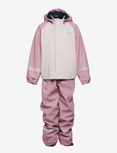 K BERGEN FLEECE PU RAINSET - combinaisons - 067 pink ash