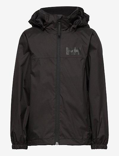 JR URBAN RAIN JACKET - vestes softshell et vestes de pluie - black