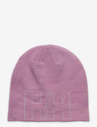 K OUTLINE BEANIE - bonnets - 067 pink ash