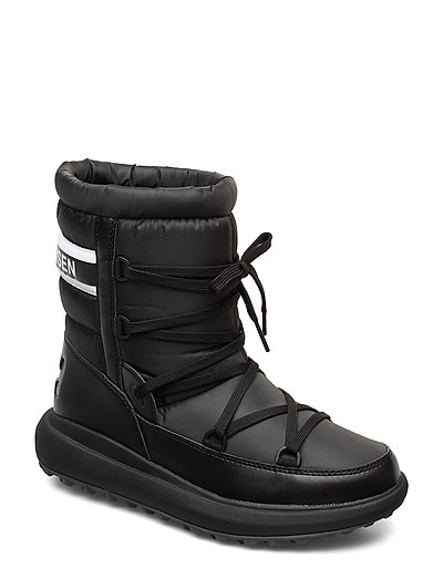 W Isolabella Court Shoes Boots Ankle Boots Ankle Boots Flat Heel Schwarz HELLY HANSEN