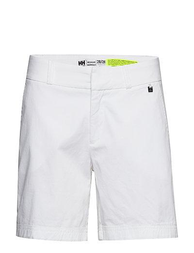 W Crew Shorts Shorts Flowy Shorts/Casual Shorts Weiß HELLY HANSEN