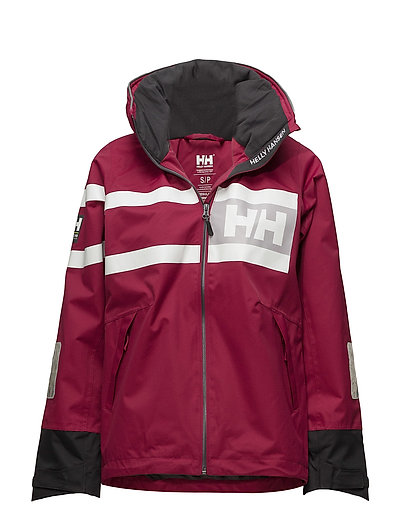 W SALT POWER JACKET - 655 PLUM