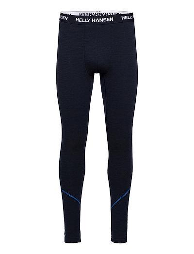 Lifa Merino Midweight Pant Base Layer Bottoms Blau HELLY HANSEN