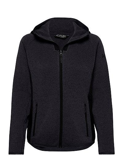 W Varde Hooded Fleece Jacket Hoodie Pullover Lila HELLY HANSEN