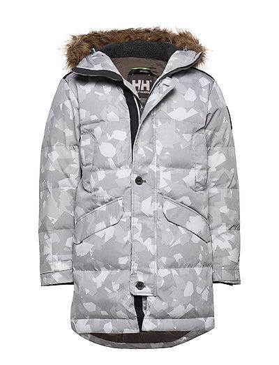 Barents Parka Outerwear Sport Jackets Grau HELLY HANSEN