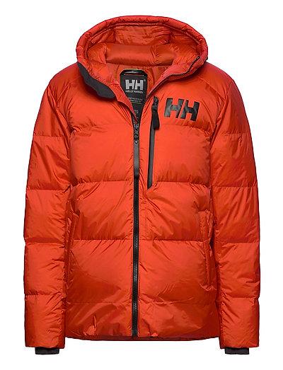 Active Winter Parka Gefütterte Jacke Orange HELLY HANSEN