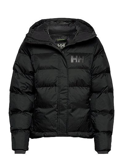 W Stellar Puffy Jacket Gefütterte Jacke Schwarz HELLY HANSEN | HELLY HANSEN SALE
