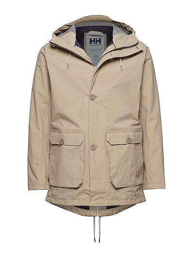 Tsuyu Rain Coat Outerwear Sport Jackets Grau HELLY HANSEN