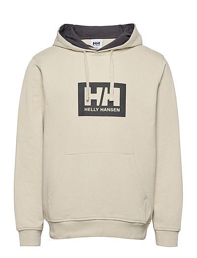 Hh Box Hoodie Hoodie Pullover Creme HELLY HANSEN