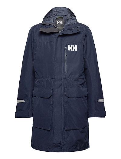 Rigging Coat Parka Jacke Blau HELLY HANSEN